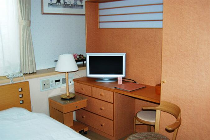 岸クリニック入院室(二人部屋)の画像