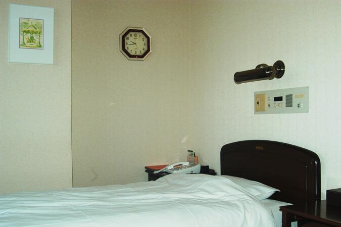 室岸クリニックリカバリー室の画像